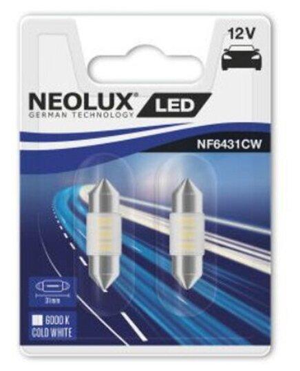 Купить Светодиодные лампы вспомогательного освещения NF6431CW-02B 0.5W 12VSV8.5-810XBLI2NEOLX 2шт. по низкой цене с доставкой из Яндекс.Маркета (бывший Беру)