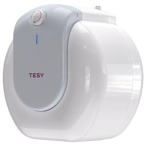 Накопительный электрический водонагреватель TESY GCU 1015 L52 RC, белый/серый