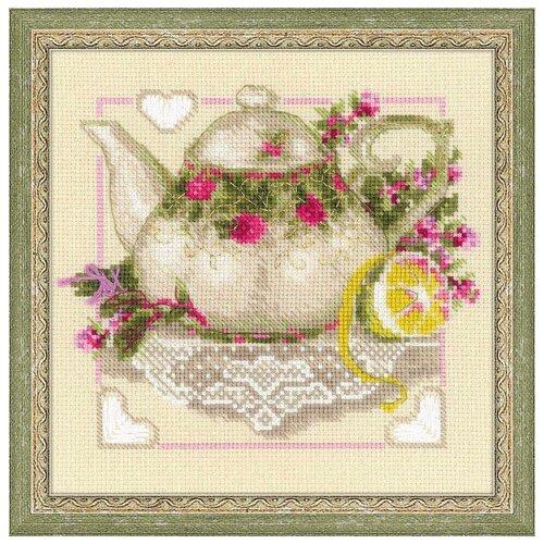 Риолис Набор для вышивания 1477 Чай с лимоном , Наборы для вышивания  - купить со скидкой