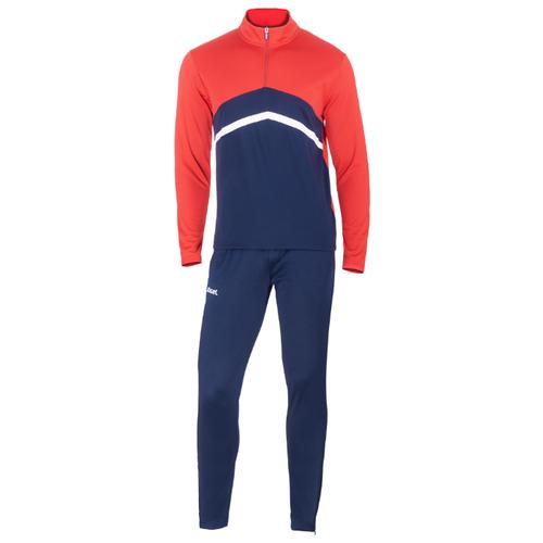 Спортивный костюм Jogel размер XS, темно-синий/красный/белый платье oodji ultra цвет красный белый 14001071 13 46148 4512s размер xs 42 170