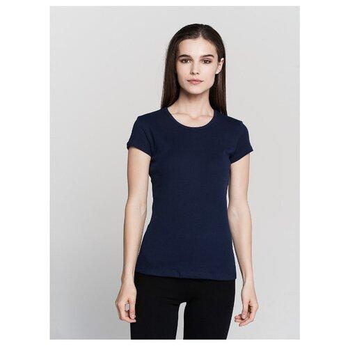 Футболка ТВОЕ 62728 размер XS, темно-синий футболка твое 68432 размер xs темно синий