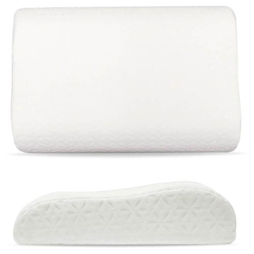 Подушка EcoSapiens Memory Plus с эффектом памяти 40 х 60 см белый