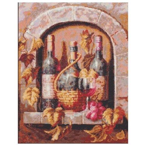 Купить Набор Натюрморт с вином 26х32 Палитра 04.004, Наборы для вышивания