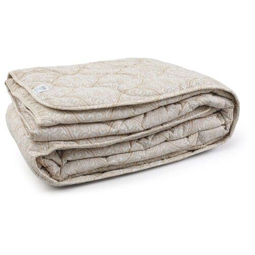Одеяло Волшебная ночь Лён, легкое, 172 х 205 см (бежевый) одеяло belashoff белое золото стеганое легкое цвет белый 172 х 205 см