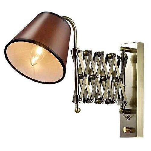 Настенный светильник Odeon light Lark 2876/1W, 40 Вт кольцо с жемчугом и бриллиантами из розового золота valtera 75891