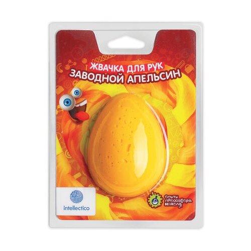 Купить Жвачка для рук Intellectico Заводной апельсин оранжевый, Игрушки-антистресс