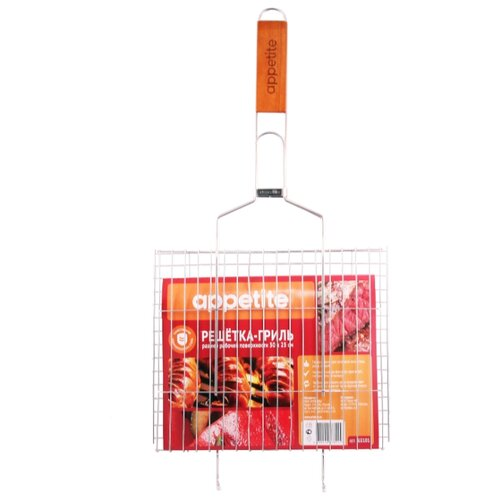 Решетка Appetite BJ2101 для гриля, 30х25 см