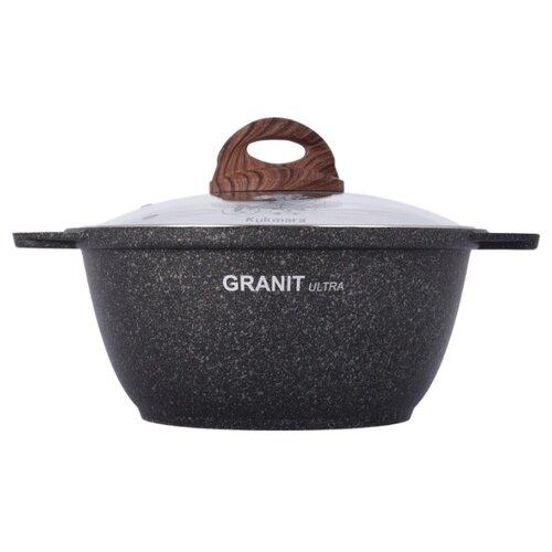 Кастрюля Kukmara Granit Ultra Original 2 л, granit original кастрюля жаровня kukmara granit ultra жга41а 4 л red