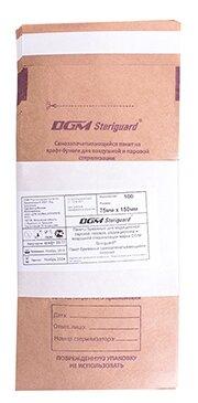 Пакет для стерилизованных инструментов DGM Крафт-пакеты для стерилизации 115x245, 100 шт.