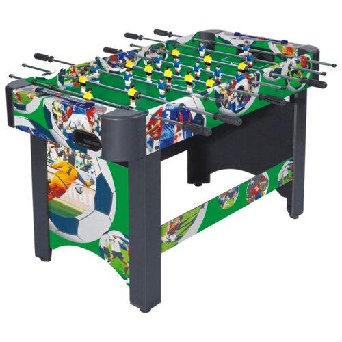 Игровой стол для футбола DFC Roma DS-ST-S01 зеленый/черный