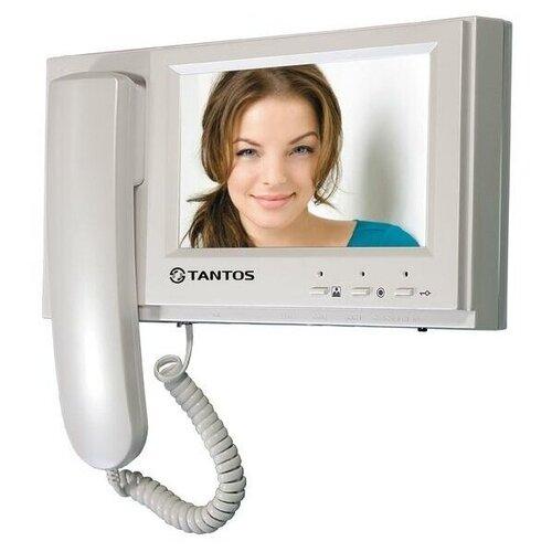 Домофон (переговорное устройство) TANTOS LOKI белый (домофон)