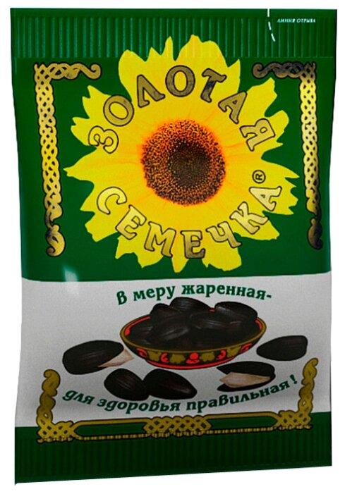 Семена подсолнечника Золотая семечка обжаренные 100 г