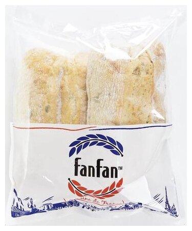 FanFan Чиабатта с черными оливками, 2 шт. по 280 г