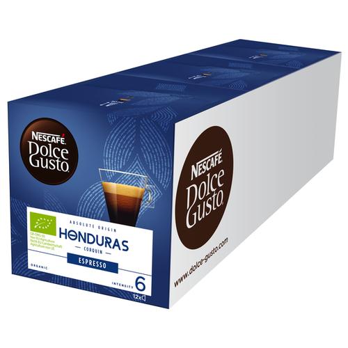 Кофе в капсулах Nescafe Dolce Gusto Honduras (36 капс.), без кофеина кофе в капсулах nescafe dolce gusto mexico americano 12 капс