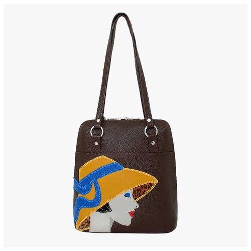 Сумка-рюкзак женская Protege ДС-226-223 Леди №4 мокко