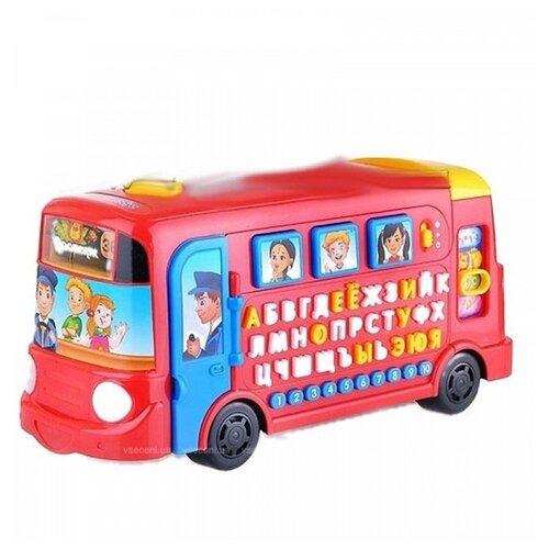 Развивающая игрушка Play Smart Школьный автобус (7503) красный, Развивающие игрушки  - купить со скидкой