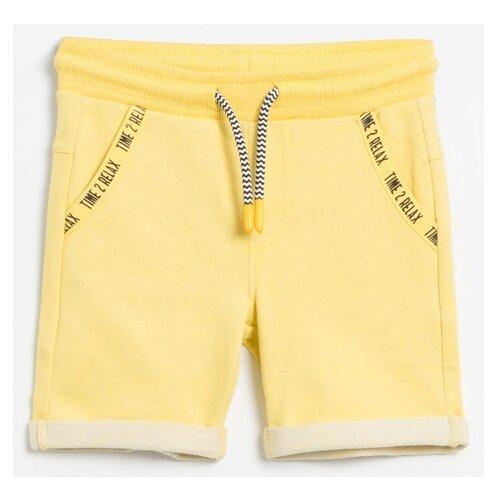 Шорты COCCODRILLO Chase the sun W20120501CHA размер 92, желтый шорты coccodrillo coccodrillo mp002xb00bxq