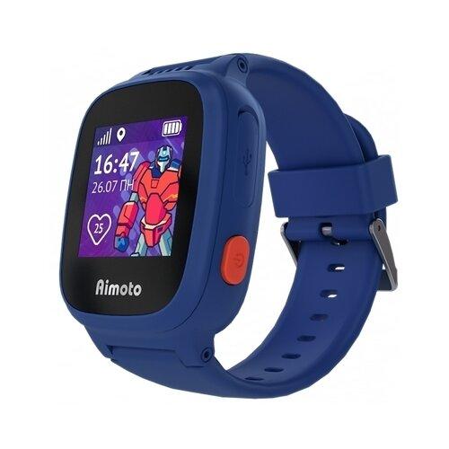 Детские умные часы c GPS Aimoto Робот синий