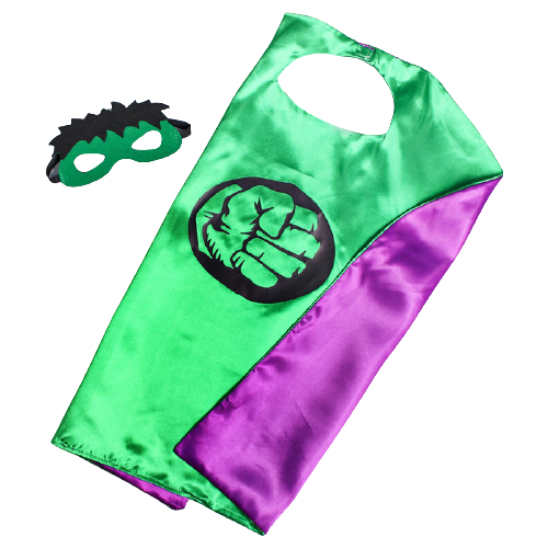 Купить Карнавальный набор Страна Карнавалия Почувствуй себя супергероем! Мстители: Халк (4527247), зеленый/фиолетовый, Карнавальные костюмы