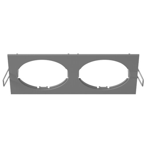 Декоративная рамка Lightstar Intero 16 Quadro 217526 / 217527 / 217529 на 2 светильника серый