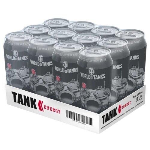 Энергетический напиток Tank Energy, 0.45 л, 12 шт.