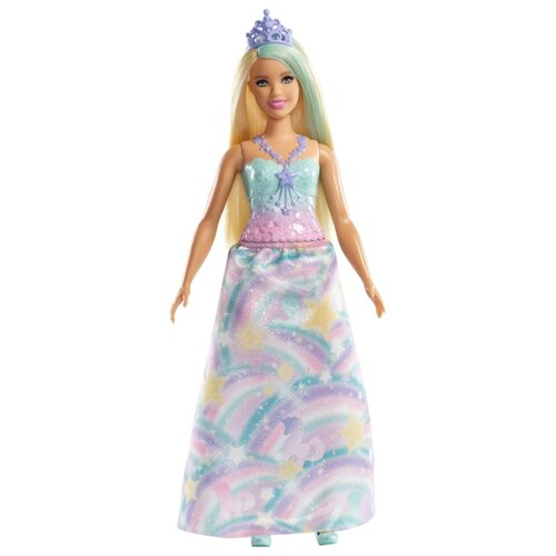 Фото - Кукла Barbie Dreamtopia Принцесса со светлыми волосами, 28 см, FXT14 кукла barbie dreamtopia