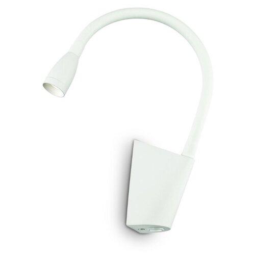 Настенный светильник GOOSE AP1 BIANCO 142708 настенный светильник ideal lux flash ap1 bianco