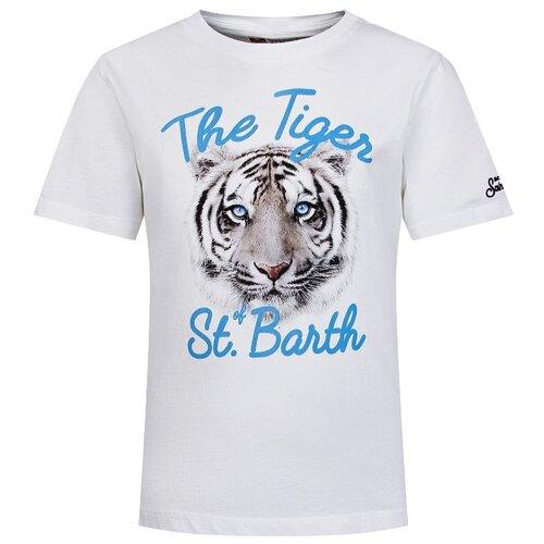 Фото - Футболка MC2 Saint Barth размер 152, белый футболка mc2 saint barth размер 128 белый