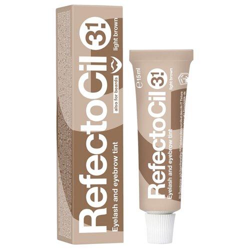 RefectoCil Краска для ресниц и бровей 15 мл 3.1, light brown недорого