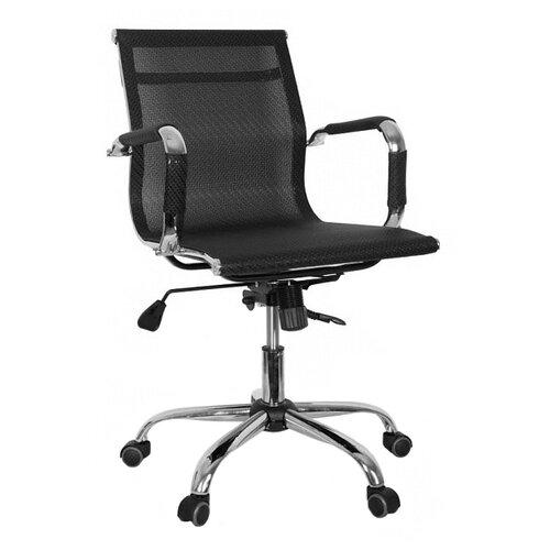 Компьютерное кресло College CLG-619 MXH-B офисное, обивка: текстиль, цвет: черный компьютерное кресло college clg 619 mxh b офисное обивка текстиль цвет бежевый