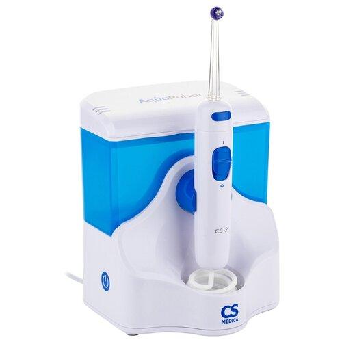 Ирригатор CS Medica AquaPulsar CS-2, белый/голубой