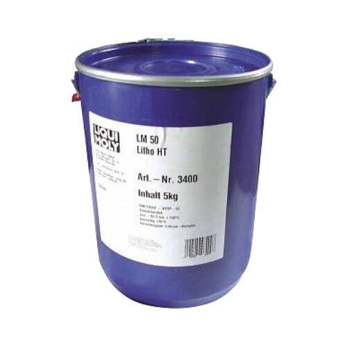 Автомобильная смазка LIQUI MOLY LM 50 Litho HT 5 кг