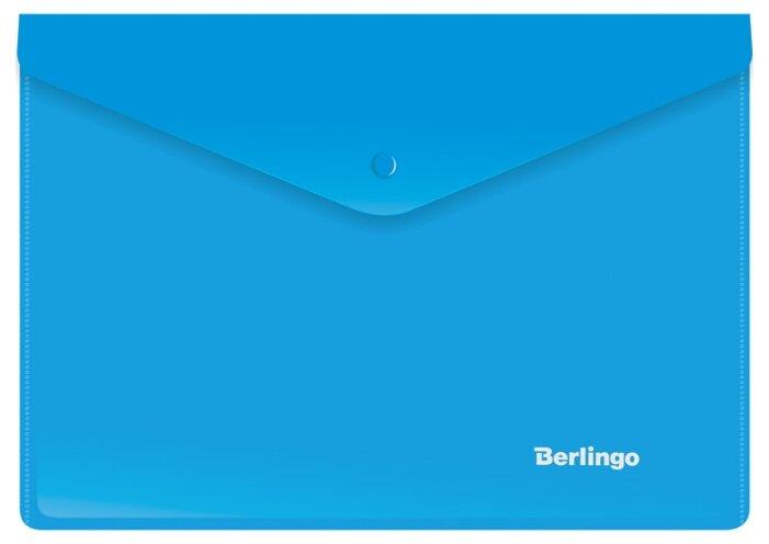Berlingo Папка-конверт на кнопке A5+, пластик 180 мкм — купить по выгодной цене на Яндекс.Маркете