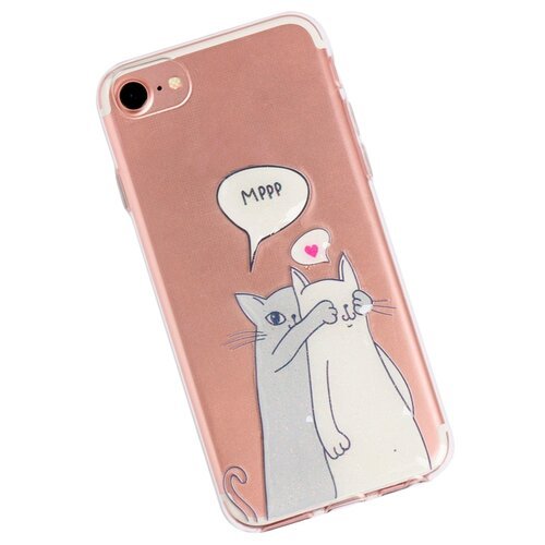 Чехол-накладка Арт Узор 3899183 для Apple iPhone 7 Мрр чехол накладка арт узор 3903713 для apple iphone 7 iphone 8 space odyssey