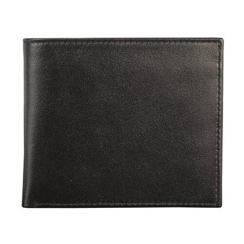 Портмоне FABULA Estet PM.6.MN, натуральная кожа черный портмоне женское fabula friends цвет бирюзовый pj 49 ch