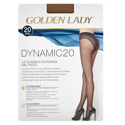 цена Колготки Golden Lady Dynamic 20 den, размер 4-L, melon (бежевый) онлайн в 2017 году