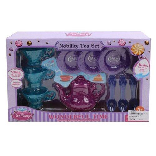 Набор посуды Shantou Gepai J007A2 голубой/розовый