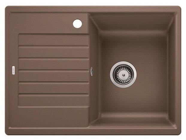Врезная кухонная мойка Blanco Zia 45S Compact 68х50см искусственный гранит — 10 цветов — купить по выгодной цене на Яндекс.Маркете