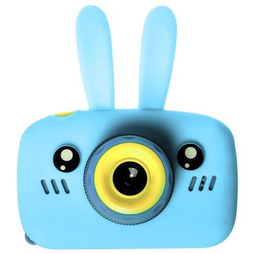 Фото - Фотоаппарат GSMIN Fun Camera Rabbit со встроенной памятью и играми голубой фотоаппарат