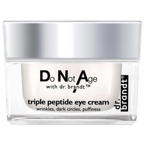 Dr. Brandt Интенсивно-омолаживающий крем для глаз Do Not Age Triple Peptide Eye Cream 15 г крем dr brandt do not age time defying cream для лица 50 г