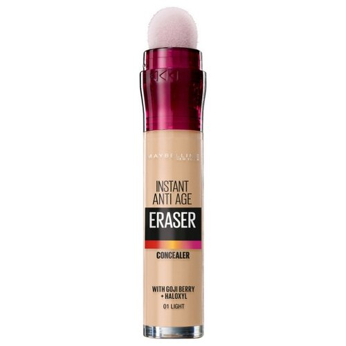 Maybelline New York Консилер The Eraser Eye, оттенок 01, Светло-бежевый the proclaimers york