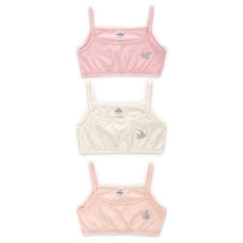 Купить Бюстье BAYKAR 3 шт., размер 170/176, молочный/персиковый/розовый, Белье и купальники