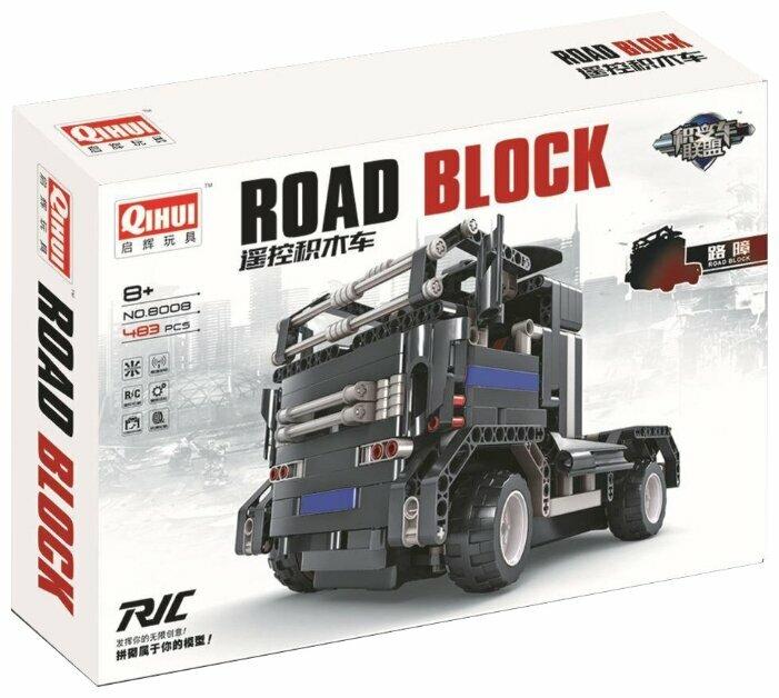 Электромеханический конструктор QiHui Auto Bricks Union 8008 Дорожный блок