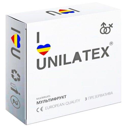 Купить Презервативы Unilatex Multifruits (3 шт.)