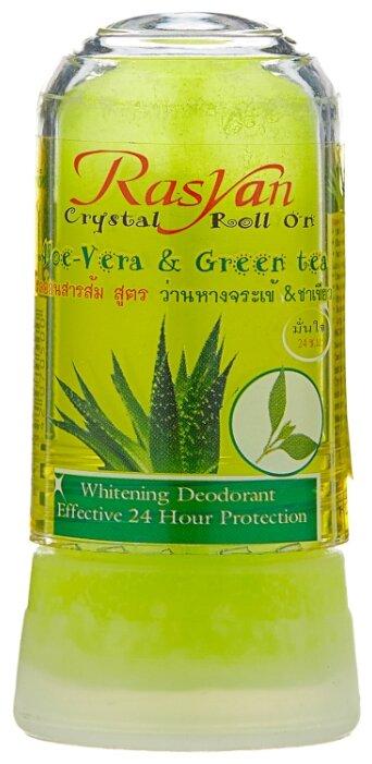 Дезодорант-кристалл Rasyan Aloe vera & Green tea, 80 г