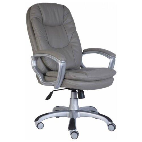 Компьютерное кресло Бюрократ CH-868AXSN для руководителя, обивка: искусственная кожа, цвет: grey