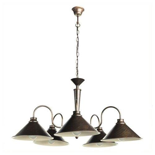 цена на Люстра Arte Lamp Bevel A9330LM-5BR, E27, 300 Вт