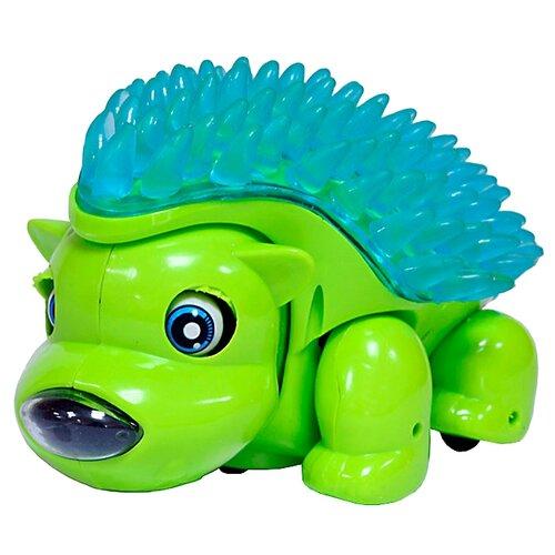 Развивающая игрушка Joy Toy Счастливый Ёжик зеленый/голубой
