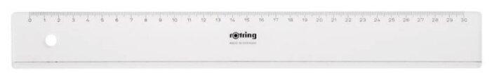 Rotring Линейка Centro Flat Ruler 30 см (S0220950)