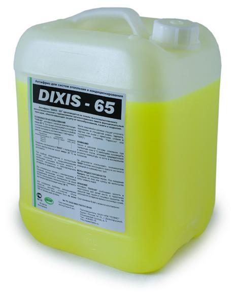 Теплоноситель этиленгликоль DIXIS -65